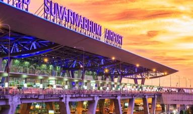 Bangkok Flughafen Taxi