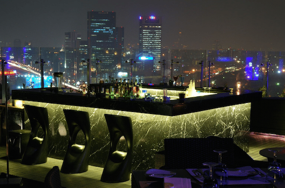 dsens roof top bar bangkok